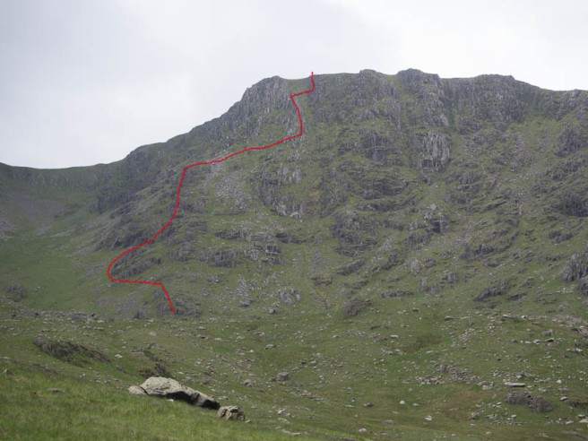 Great Carrs Buttress