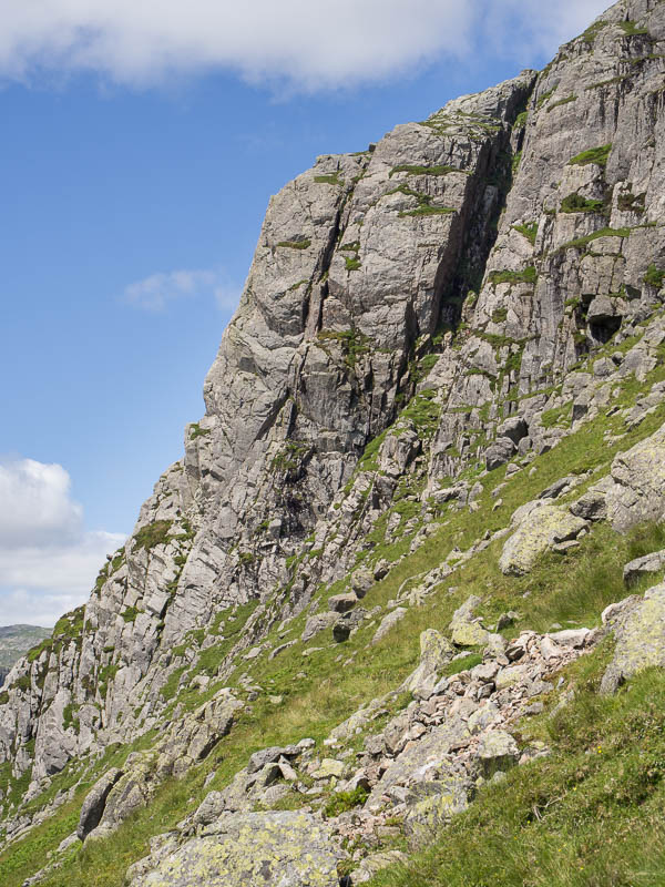 Gimmer Crag south east face