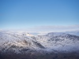 The southern Carneddau outliers from Cwm Tryfan