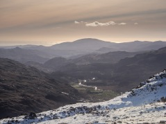 Looking to Eskdale and the sea