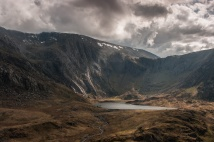 Llyn Idwal and the Slabs