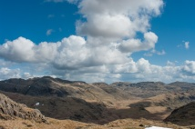 Cloud formations in the afternoon above upper Eskdale