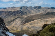 The Mosedale horseshoe from Mickledore