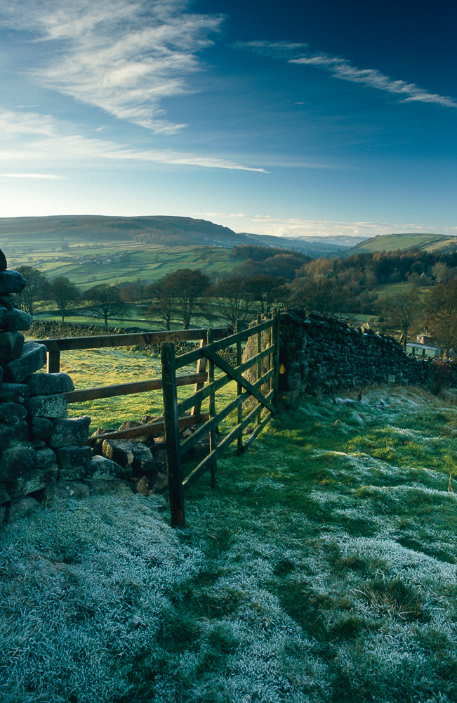 Frosty Gate in Wharfedale