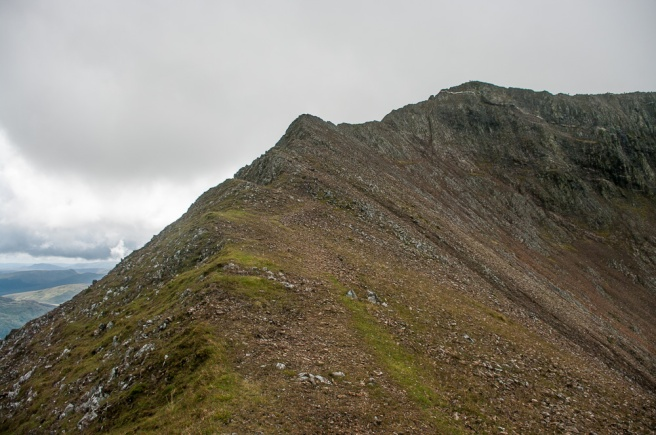 Crib Goch north ridge