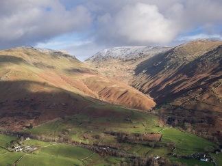 Fairfield above the Thirlmere valley