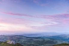 East from Crimpiau at sunrise