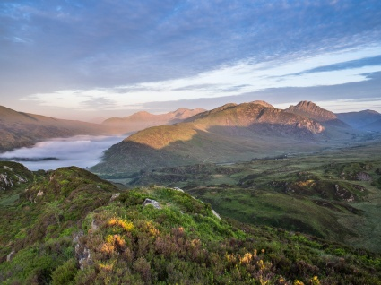 Glyders and Snowdon
