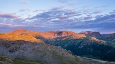 Great Gable at sunrise from Bessyboot