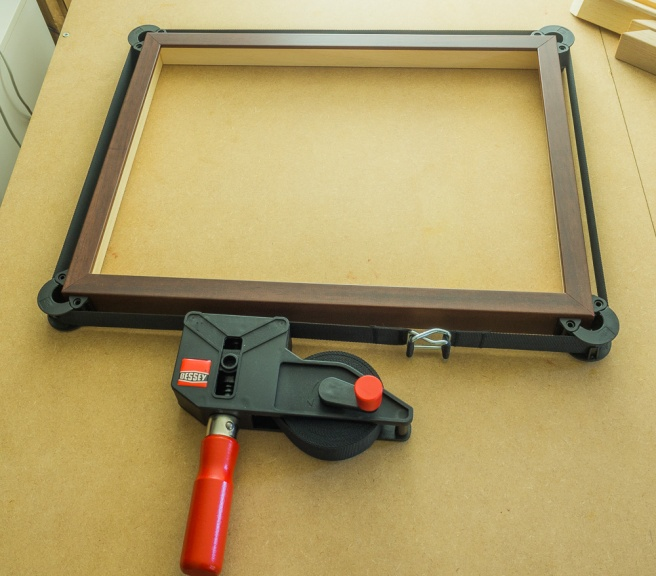 Frame setting in the clamp
