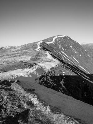 The ridge towards Dow Crag