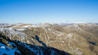Looking north from Coniston Old Man