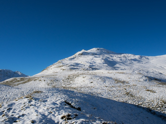 Looking up the ridge towards Gavel Pike