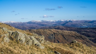 Toward the Eastern fells from Coniston Old Man