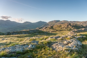Bowfell from Border End