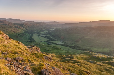Eskdale from Border End