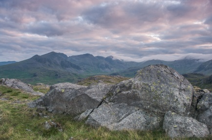 Scafell from Border End