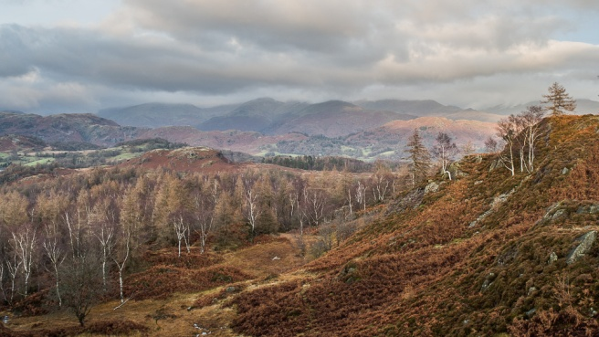 Fairfield from Holme Fell
